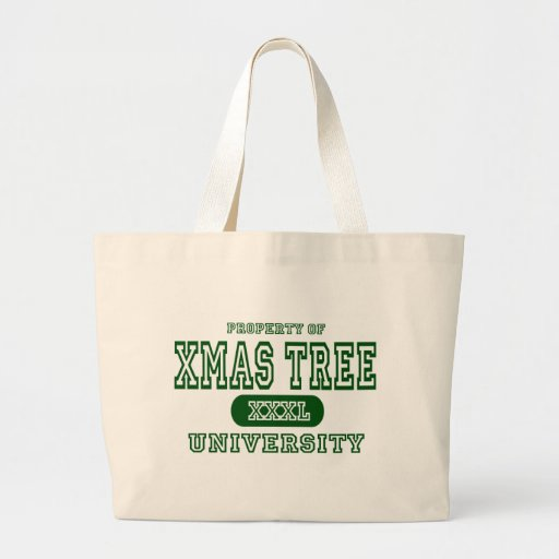 Universidad del árbol de Navidad Bolsas