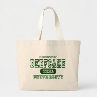 Universidad del Beefcake Bolsa Tela Grande