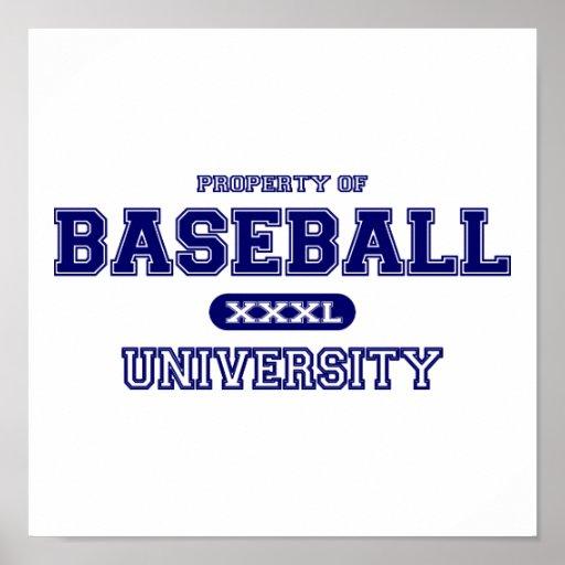 Universidad del béisbol impresiones