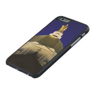 Universidad del caso del iPhone de Notre Dame Funda De iPhone 6 Carved® Slim De Arce