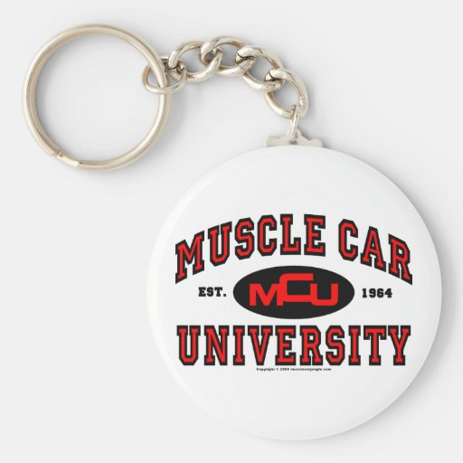 Universidad del coche del músculo llavero