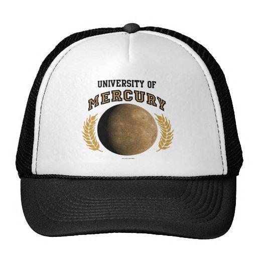 Universidad del gorra de Mercury