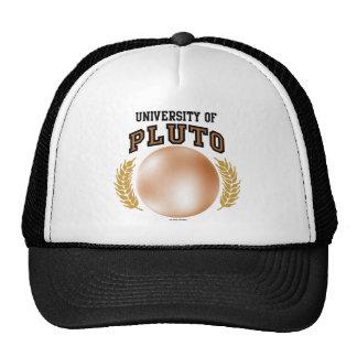 Universidad del gorra de Plutón