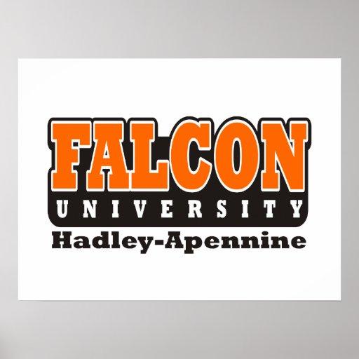 Universidad del halcón póster