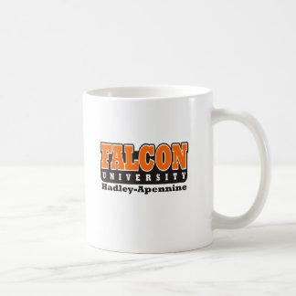 Universidad del halcón taza de café