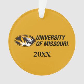 Universidad del logotipo del tigre de Missouri