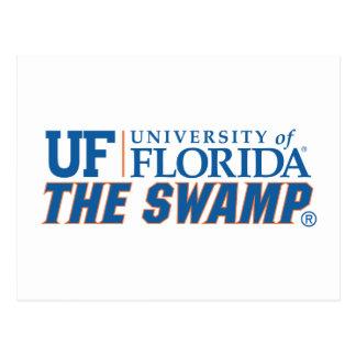 Universidad del pantano de la Florida Tarjeta Postal