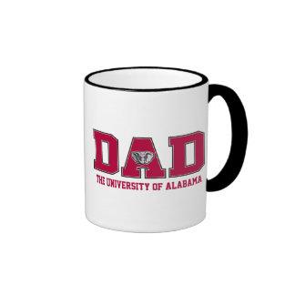 Universidad del papá de Alabama Taza A Dos Colores