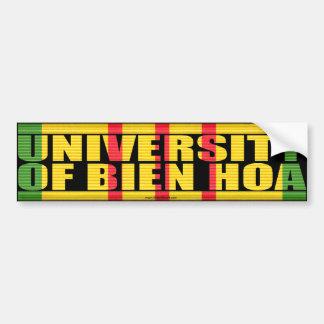 Universidad del pegatina de Bien Hoa Pegatina De Parachoque