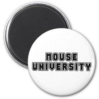 Universidad del ratón imán redondo 5 cm