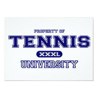Universidad del tenis invitacion personal