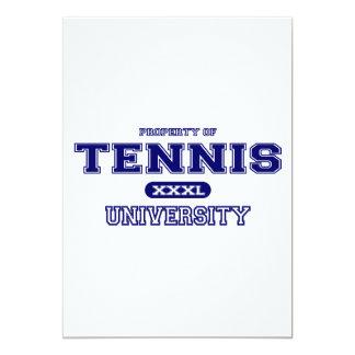 Universidad del tenis comunicado personalizado