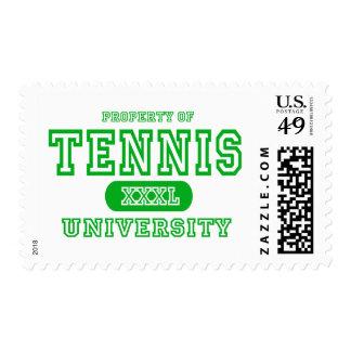 Universidad del tenis sellos