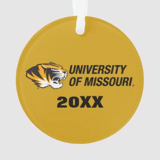 Universidad del tigre de Missouri - color