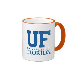 Universidad del uF de la Florida Taza A Dos Colores