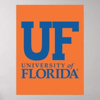 Universidad del uF del logotipo de la Florida Impresiones
