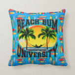 Universidad del vago de la playa almohada