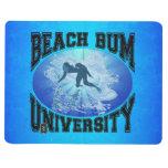 Universidad del vago de la playa cuadernos grapados