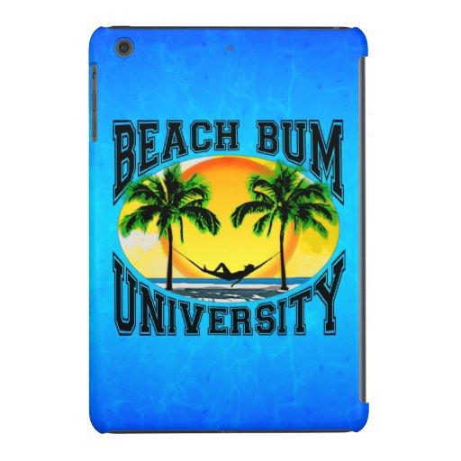 Universidad del vago de la playa funda de iPad mini