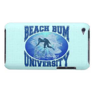 Universidad del vago de la playa iPod touch protectores