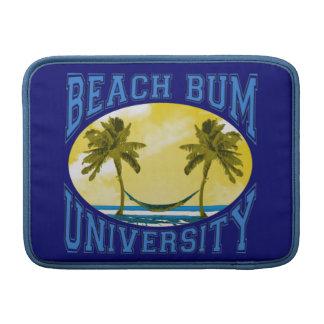 Universidad del vago de la playa funda  MacBook
