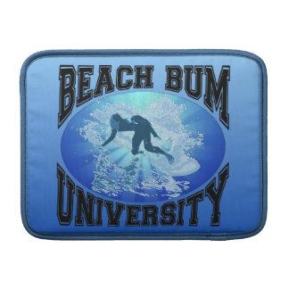 Universidad del vago de la playa funda macbook air