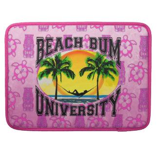 Universidad del vago de la playa funda macbook pro