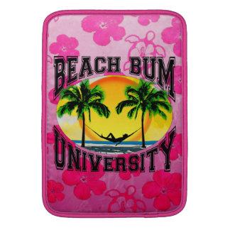 Universidad del vago de la playa funda para macbook air