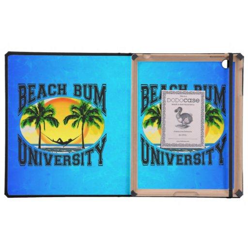 Universidad del vago de la playa iPad coberturas