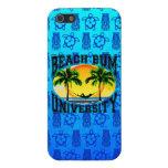 Universidad del vago de la playa iPhone 5 cárcasas