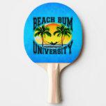Universidad del vago de la playa pala de ping pong