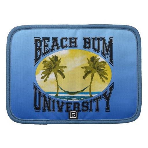 Universidad del vago de la playa planificadores