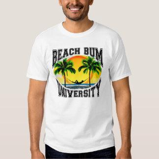 Universidad del vago de la playa remeras