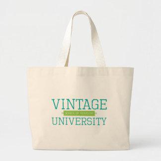 Universidad del vintage: Escuela de la valla publi Bolsa Tela Grande