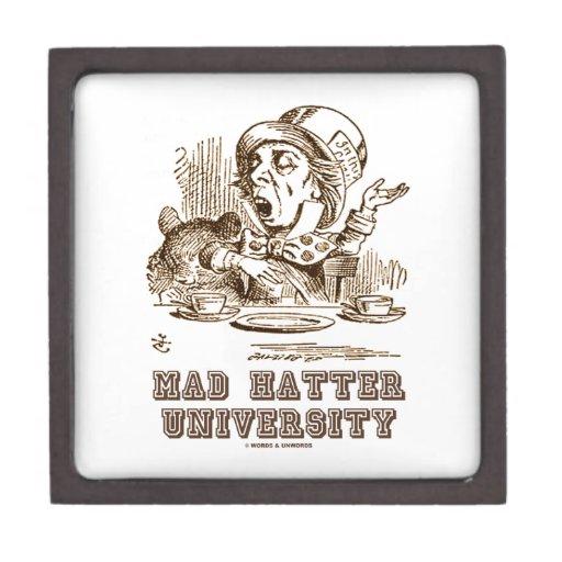 Universidad enojada del sombrerero (sombrerero eno cajas de regalo de calidad