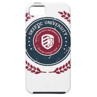 Universidad escéptica iPhone 5 Case-Mate coberturas