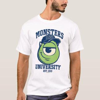 Universidad Est de los monstruos de Mike. luz 1313 Playera
