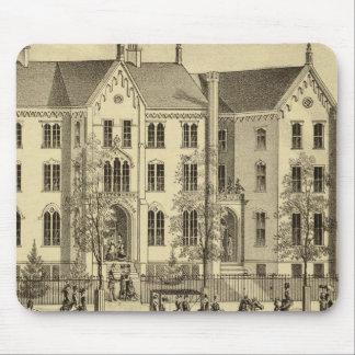 Universidad femenina Pittsburgh de Pittsburgh Mousepads
