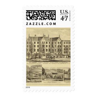 Universidad femenina Pittsburgh de Pittsburgh Sello Postal