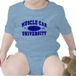 Universidad II del coche del músculo Camisetas