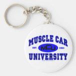 Universidad II del coche del músculo Llavero