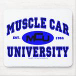 Universidad II del coche del músculo Tapetes De Raton