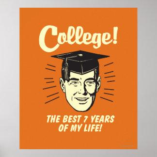 Universidad: Los mejores 7 años de mi vida Póster