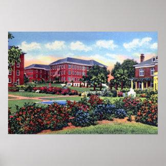 Universidad meridional de Lakeland la Florida la F Póster
