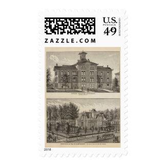 Universidad metodista de Kansas Franqueo