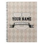 Universidad personalizada de YourName Libretas