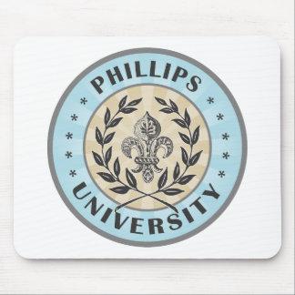 Universidad Phillips azul claro Alfombrilla De Raton