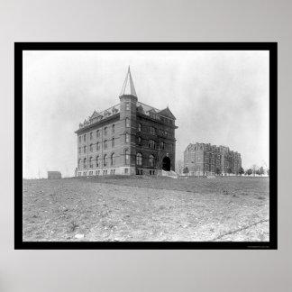 Universidad teológica 1900 de Pasillo Fisk Impresiones