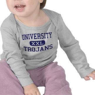 Universidad - Trojan - alta - Irvine California Camisetas
