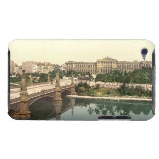 Universidad y puente Estrasburgo Alsacia Franci iPod Touch Coberturas